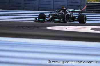 """Bottas confirma melhora da Mercedes, mas """"não dá para ficar feliz"""" atrás da Red Bull - Grande Prêmio"""