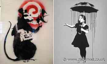 Banksy is stripped of trademarks to 'Radar Rat' and 'Girl with Umbrella' artworks