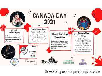 Pembroke unveils plans for Canada Day in the city - Gananoque Reporter