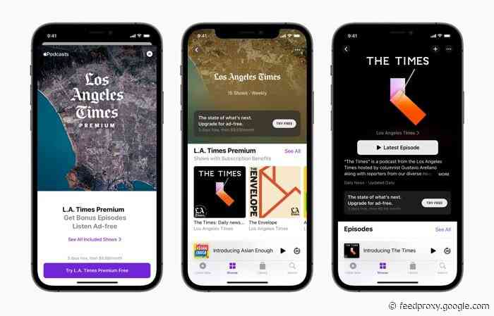 Apple Podcasts Subscriptions now available worldwide