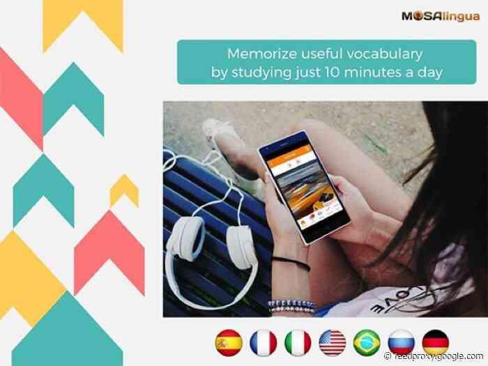 Reminder: Save 97% on the MosaLingua Language Learning Fluency Bundle