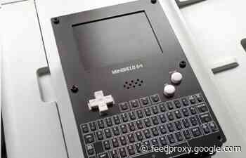 Commodore 64 Game Boy handheld console kit