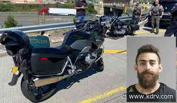 Fugitive on motorcycle arrested in Phoenix after high-speed chase - KDRV