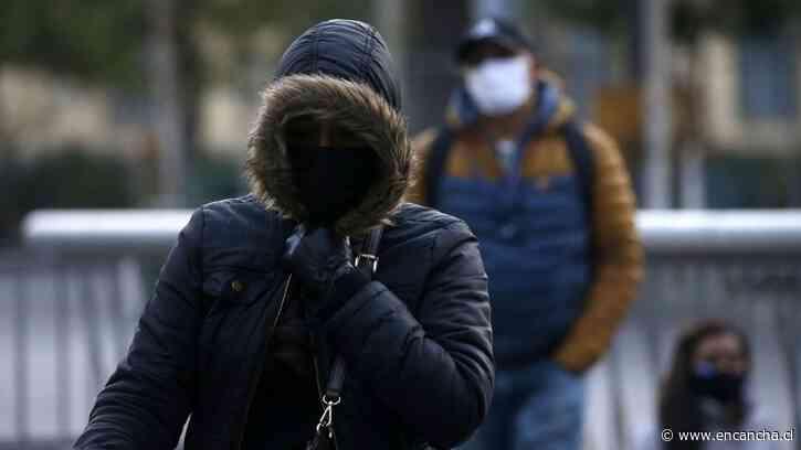 Emiten aviso por heladas para la Región Metropolitana y de Valparaíso este lunes - EnCancha.cl