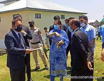 Justice Sindhu Sharma inspects Court Complexes at Chrar-e- Sharief, Chadoora - India Education Diary