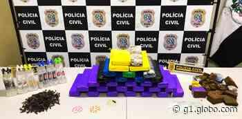 Dois homens são presos por tráfico de drogas em Vila Velha, ES - G1