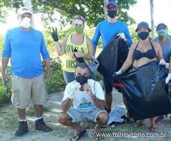 Moradores criam projeto para realizar limpeza em praias de Vila Velha - Folha Vitória