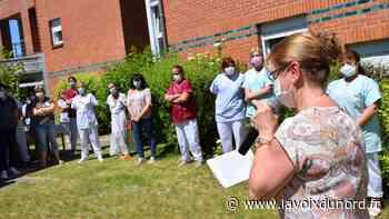 Hautmont : le centre hospitalier a mis à l'honneur son personnel médical - La Voix du Nord