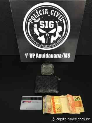 SIG localiza autor de furto em Aquidauana | Notícias de Campo Grande e MS - Capital News