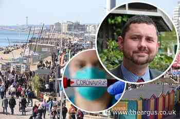 Brighton council leader urges city to keep virus at bay as infection rate exceeds England average