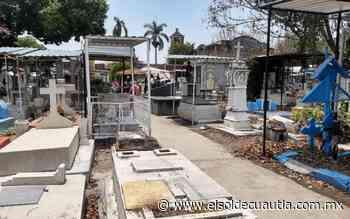 Estarán abiertos este domingo los panteones en Cuautla - El Sol de Cuautla