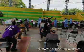 Se lleva a cabo el último día de vacunación en Cuautla - El Sol de Cuautla