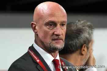 Italiaanse coach van Hongarije moet tranen wegvegen na match tegen Frankrijk