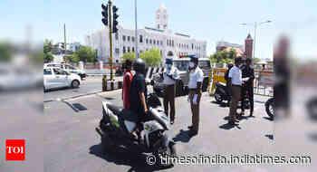 Coronavirus live updates: Lockdown extended in Tamil Nadu for one more week - Times of India