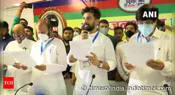Chirag Paswan to launch 'ashirwaad yatra' from Hajipur