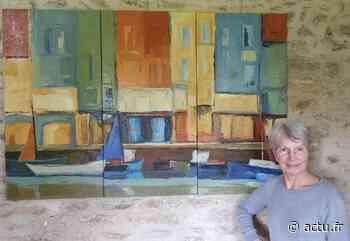Près de Pacy-sur-Eure, une artiste s'expose aux regards - actu.fr