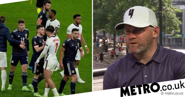 Wayne Rooney slams England fans who booed players after Scotland draw at Euro 2020