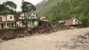 Rains wreak havoc in Uttarakhand, damage newly constructed section of road on Rishikesh-Gangotri national highway