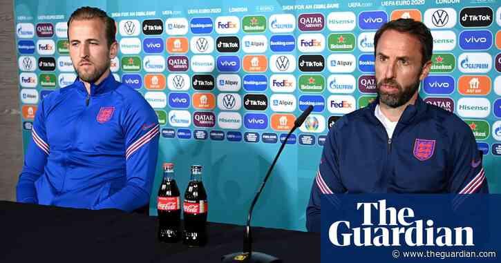 Southgate and Kane defend Euro 2020 sponsors after Ronaldo's Coca-Cola snub – video