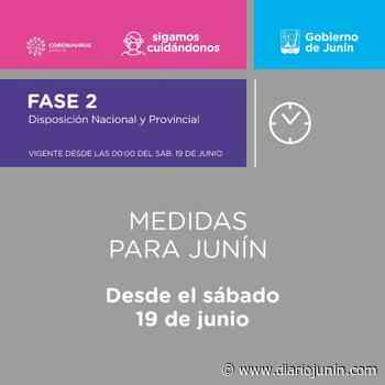 Nuevas medidas en Junín - diariojunin.com