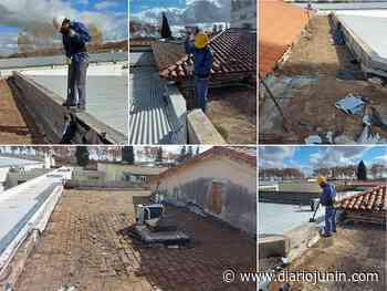 Comenzaron tareas de refacción en techos del HIGA - diariojunin.com