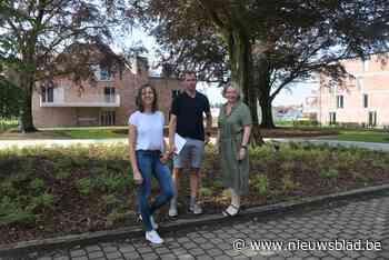 Gloednieuwe assistentiewoningen in de Moeie op plaats waar vroeger 'Villa Steyaert' stond