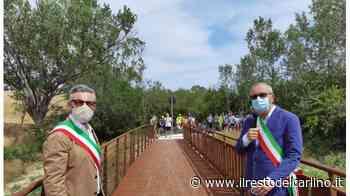 Monte San Vito e Montemarciano si riuniscono: inaugurato il nuovo ponte del percorso Agricom - il Resto del Carlino