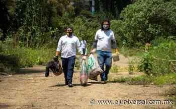 Retira Sedema 300 kilos de basura de la barranca Tecamachalco | El Universal - El Universal