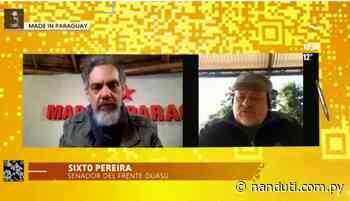 """Cartes """"participó activamente"""" en el juicio político a Lugo, afirma Sixto Pereira - Radio Ñanduti"""