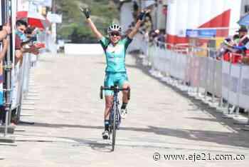 Colmenares sorprende y derrota a Patiño en nacionales de ciclismo en Pereira - Eje21