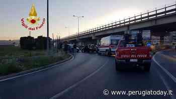Incidente a Corciano, auto contromano si schianta contro un'altra auto: un ferito - PerugiaToday