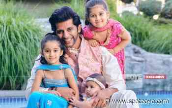 """Happy Father's Day 2021: Karenvir Bohra Calls His Daughters Vienna, Bella And Gia 'Lakshmi, Saraswati And Parvati': """"They Complete My Life"""" – EXCLUSIVE - SpotboyE"""