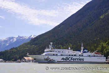 Summer ferry service to Bella Coola to start June 19 - Coast Mountain News