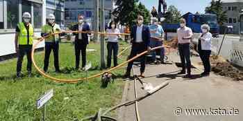 Wesseling: Glasfaserausbau im Gewerbegebiet Berzdorf beginnt - Kölner Stadt-Anzeiger