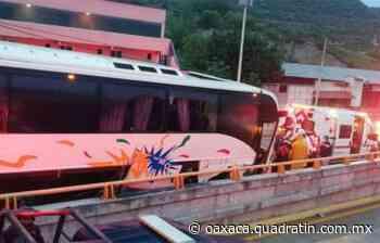 Choque de autobús en Chilpancingo, Guerrero, deja seis lesionados - Quadratín Oaxaca
