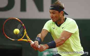 Rafael Nadal: 'Sport prevention of any kind of excess in my body is...' - Tennis World USA