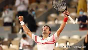 Novak Djokovic beats Rafael Nadal in thriller to reach French Open final - CNN International