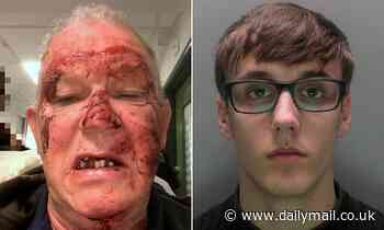 Kickboxer, 21, who broke motorist's jaw is jailed for 22 months