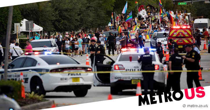 Man killed after truck crashes into crowd at Pride parade