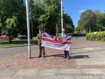 East Renfrewshire is flying the flag to mark Armed Forces Day - Barrhead News