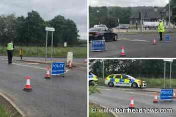 Barrhead: Glasgow Road road shut off by police - Barrhead News