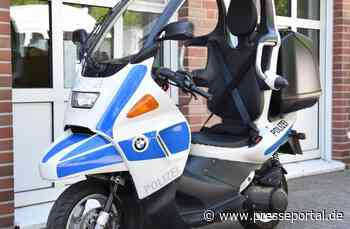 POL-VIE: Nettetal-Kaldenkirchen: Nettetaler Polizisten machen BMW C1-Roller wieder flott -... - Presseportal.de