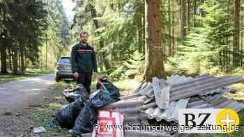 Müll im Wald: Verstärkt Corona illegale Entsorgung im Kreis?