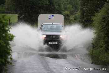 Brighton and Sussex due more rain after weekend washout