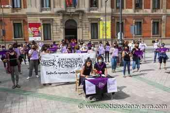 """Concentración en Pamplona """"contra los ataques a la organización política feminista"""" - Noticias de Navarra"""