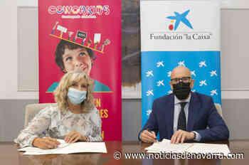 """Ayuntamiento de Pamplona, la Fundación """"la Caixa"""" y CaixaBank firman un convenio de colaboración para el desarrollo del proyecto 'Meriendas saludables' en la programación de COworkids - Noticias de Navarra"""