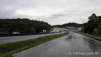 BR-101 terá trânsito interrompido em Joinville no domingo - ND Mais