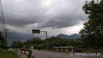 Será que chove? Veja como fica o tempo em Joinville e região no fim de semana - ND Mais