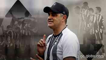 De execrado a exaltado, Marcelo Chamusca vive montanha russa em 20 jogos pelo Botafogo - globoesporte.com