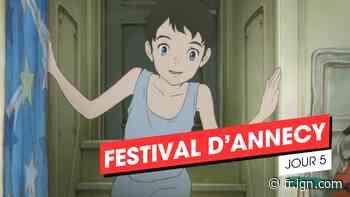Annecy 2021, jour 5 : Flee, Gyoko no Nikuko-chan, Insterstella - IGN France